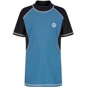 Regatta Hover UV Shirt Kids coastal blue/navy
